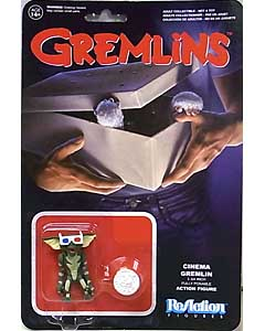 FUNKO x SUPER 7 REACTION FIGURES 3.75インチアクションフィギュア GREMLINS CINEMA GREMLIN