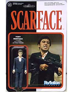 FUNKO x SUPER 7 REACTION FIGURES 3.75インチアクションフィギュア SCARFACE TONY MONTANA