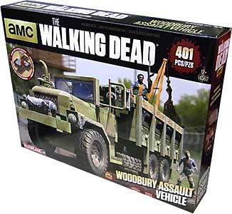 McFARLANE TOYS THE WALKING DEAD TV BUILDING SETS WOODBURY ASSAULT VEHICLE