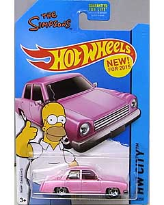 MATTEL HOT WHEELS 1/64スケール 2015 HW CITY THE SIMPSONS FAMILY CAR #56