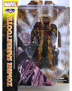 DIAMOND SELECT MARVEL SELECT ZOMBIE SABERTOOTH