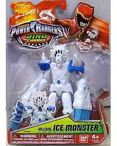 USA BANDAI POWER RANGERS DINO CHARGE 5インチアクションフィギュア VILLAIN ICE MONSTER