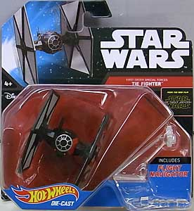 MATTEL HOT WHEELS STAR WARS THE FORCE AWAKENS DIE-CAST VEHICLE FIRST ORDER SPECIAL FORCES TIE FIGHTER