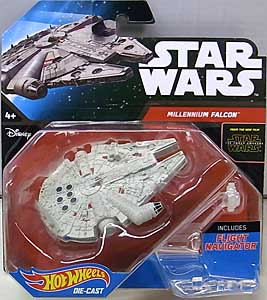 MATTEL HOT WHEELS STAR WARS THE FORCE AWAKENS DIE-CAST VEHICLE MILLENNIUM FALCON