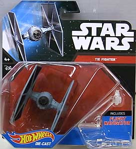 MATTEL HOT WHEELS STAR WARS DIE-CAST VEHICLE TIE FIGHTER [NEW PACKAGE]