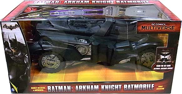 MATTEL DC COMICS MULTIVERSE BATMAN: ARKHAM KNIGHT BATMOBILE 開封済み未使用品