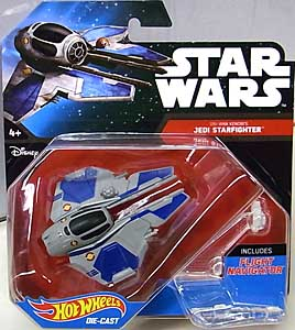 MATTEL HOT WHEELS STAR WARS DIE-CAST VEHICLE OBI-WAN KENOBI'S JEDI STARFIGHTER ブリスターワレ特価