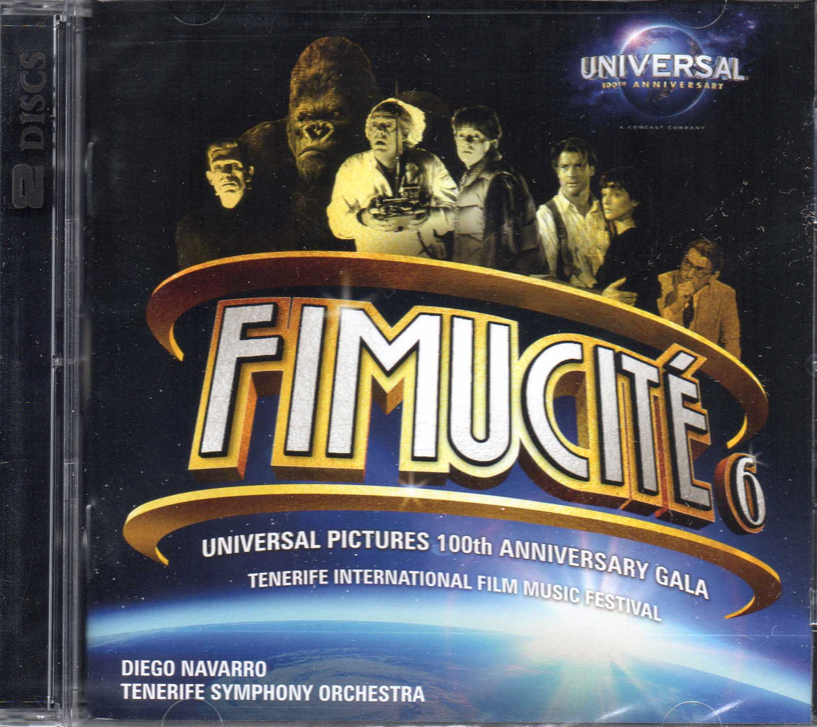 FIMUCITE 6 UNIVERSAL PICTURES 100TH ANNIVERSARY GALA