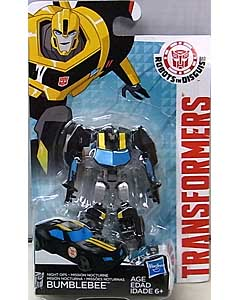 HASBRO アニメ版 TRANSFORMERS ROBOTS IN DISGUISE LEGION CLASS NIGHT OPS BUMBLEBEE