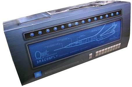 メビウスモデル 12インチ ジョニークエスト ドラゴンフライ 塗装、組み立て済み完成品
