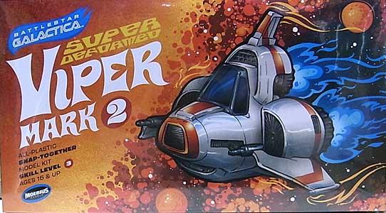 メビウスモデル バトルスターギャラクティカ スーパーデフォルメ バイパー MK.II 組み立て式プラモデル スナップキット