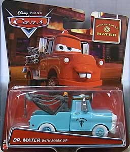 MATTEL CARS 2016 CARS TOON シングル RESCUE SQUAD MATER DR.MATER WITH MASK UP ブリスター傷み特価