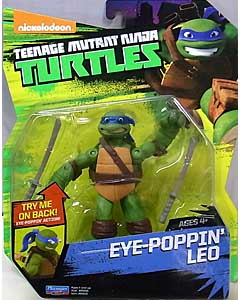PLAYMATES NICKELODEON TEENAGE MUTANT NINJA TURTLES ベーシックフィギュア 2016 EYE-POPPIN' LEO