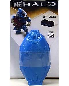 MEGA BLOKS HALO DROP POD METALLIC BLUE ELITE