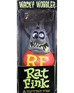 FUNKO WACKY WOBBLER RAT FINK [GRAY]