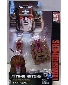 HASBRO TRANSFORMERS GENERATIONS TITANS RETURN TITAN MASTER SKYTREAD 台紙傷み特価