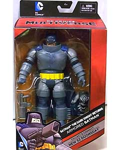 MATTEL DC COMICS MULTIVERSE 6インチアクションフィギュア BATMAN THE DARK KNIGHT RETURNS ARMORED BATMAN [NEW 52 DOOMSDAY SERIES] パッケージ傷み特価