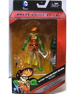 MATTEL DC COMICS MULTIVERSE 6インチアクションフィギュア BATMAN THE DARK KNIGHT RETURNS ROBIN [NEW 52 DOOMSDAY SERIES]