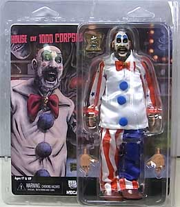 NECA HOUSE OF 1000 CORPSES 8インチドール CAPTAIN SPAULDING