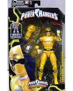 USA BANDAI POWER RANGERS LEGACY COLLECTION 6インチアクションフィギュア NINJA STORM YELLOW RANGER