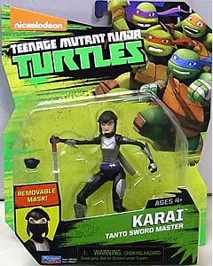 PLAYMATES NICKELODEON TEENAGE MUTANT NINJA TURTLES ベーシックフィギュア 2016 KARAI