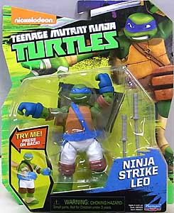 PLAYMATES NICKELODEON TEENAGE MUTANT NINJA TURTLES ベーシックフィギュア 2016 NINJA STRIKE LEO