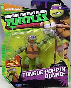PLAYMATES NICKELODEON TEENAGE MUTANT NINJA TURTLES ベーシックフィギュア 2016 TONGUE-POPPIN' DONNIE