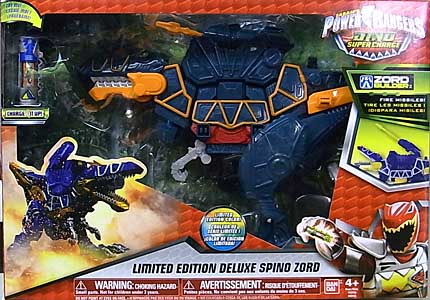 USA BANDAI POWER RANGERS DINO SUPER CHARGE LIMITED EDITION DELUXE SPINO ZORD