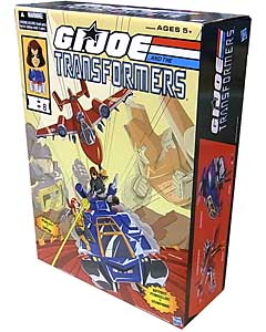 2016年 サンディエゴ・コミコン限定 HASBRO G.I.JOE AND THE TRANSFORMERS POWEGLIDE VS SOUNDWAVE
