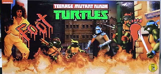 2016年 サンディエゴ・コミコン限定 NECA TEENAGE MUTANT NINJA TURTLES SHREDDER AND THE FOOT CLAN BOX SET [ARCADE APPEARANCE]