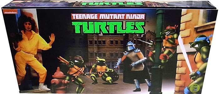 2016年 サンディエゴ・コミコン限定 NECA TEENAGE MUTANT NINJA TURTLES TURTLES BOX SET [ARCADE APPEARANCE]