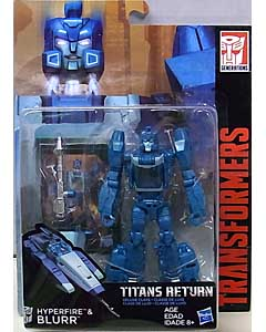 HASBRO TRANSFORMERS GENERATIONS TITANS RETURN DELUXE CLASS HYPERFIRE & BLURR