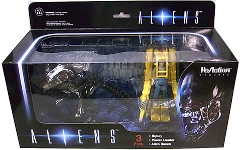 FUNKO x SUPER 7 REACTION FIGURES 3.75インチアクションフィギュア ALIENS 3PACK [RIPLEY & POWER LOADER & ALIEN QUEEN]