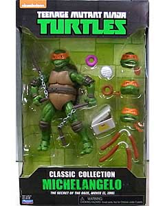 PLAYMATES TEENAGE MUTANT NINJA TURTLES CLASSIC COLLECTION 6インチアクションフィギュア 1991 MOVIE MICHELANGELO