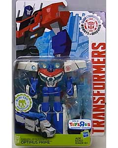 HASBRO アニメ版 TRANSFORMERS ROBOTS IN DISGUISE USA TOYSRUS限定 DELUXE CLASS POWER SURGE OPTIMUS PRIME