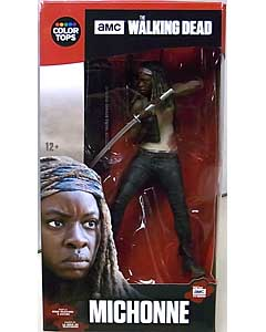 McFARLANE TOYS THE WALKING DEAD TV COLOR TOPS: RED WAVE 7インチアクションフィギュア MICHONNE