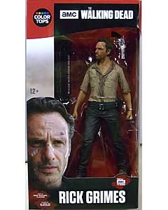 McFARLANE TOYS THE WALKING DEAD TV COLOR TOPS: RED WAVE 7インチアクションフィギュア RICK GRIMES