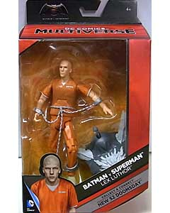 MATTEL DC COMICS MULTIVERSE 6インチアクションフィギュア BATMAN V SUPERMAN: DAWN OF JUSTICE LEX LUTHOR [NEW 52 DOOMSDAY SERIES]