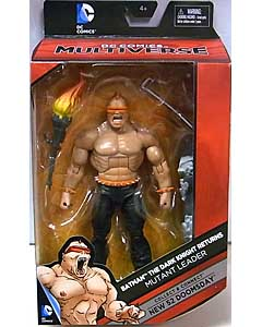 MATTEL DC COMICS MULTIVERSE 6インチアクションフィギュア BATMAN THE DARK KNIGHT RETURNS MUTANT LEADER [NEW 52 DOOMSDAY SERIES]