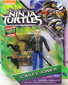 PLAYMATES 映画版 TEENAGE MUTANT NINJA TURTLES: OUT OF THE SHADOWS ベーシックフィギュア CASEY JONES [MASKED]
