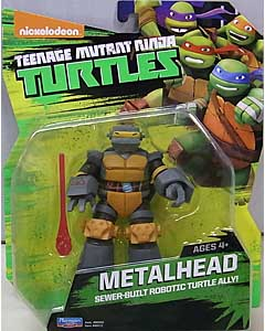 PLAYMATES NICKELODEON TEENAGE MUTANT NINJA TURTLES ベーシックフィギュア 2015 METALHEAD