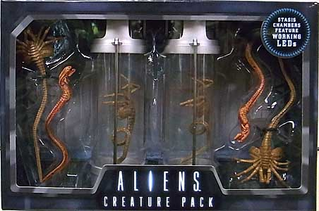 NECA ALIEN 7インチアクションフィギュア ALIENS 30TH ANNIVERSARY DELUXE CREATURE ACCESSORY PACK ワケアリ特価