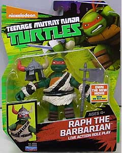 PLAYMATES NICKELODEON TEENAGE MUTANT NINJA TURTLES ベーシックフィギュア 2015 RAPH THE BARBARIAN