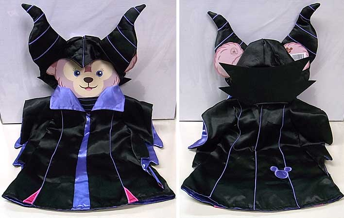 DISNEY USAディズニーテーマパーク限定 DUFFY THE DISNEY BEAR SHELLIEMAY COSTUME [MALEFICENT]