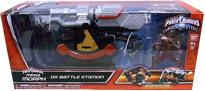 USA BANDAI POWER RANGERS NINJA STEEL MEGA MORPH DX BATTLE STATION