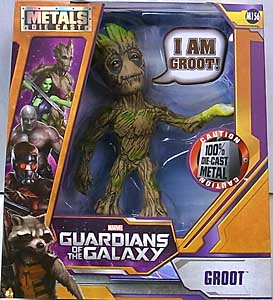 JADA TOYS 映画版 GUARDIANS OF THE GALAXY METALS DIE CAST 6インチフィギュア GROOT