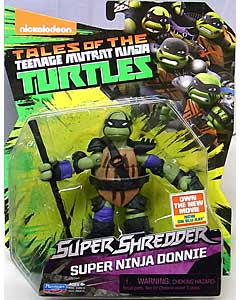 PLAYMATES NICKELODEON TEENAGE MUTANT NINJA TURTLES SUPER SHREDDER ベーシックフィギュア 2016 SUPER NINJA DONNIE