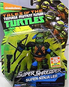PLAYMATES NICKELODEON TEENAGE MUTANT NINJA TURTLES SUPER SHREDDER ベーシックフィギュア 2016 SUPER NINJA LEO 台紙傷み特価