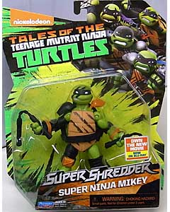 PLAYMATES NICKELODEON TEENAGE MUTANT NINJA TURTLES SUPER SHREDDER ベーシックフィギュア 2016 SUPER NINJA MIKEY
