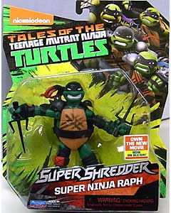 PLAYMATES NICKELODEON TEENAGE MUTANT NINJA TURTLES SUPER SHREDDER ベーシックフィギュア 2016 SUPER NINJA RAPH